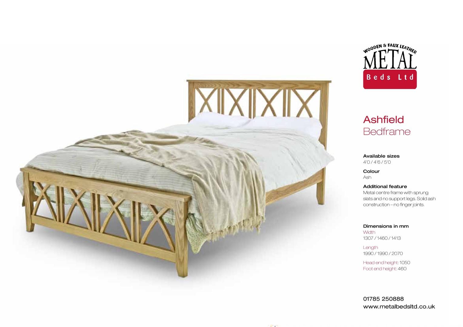5 Ashfield Oak Bed Frame
