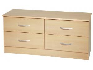 Avon 4 Drawer Bed Box (Beech)