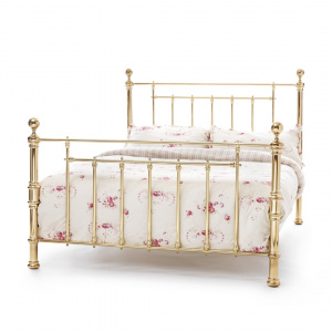 Benjamin Metal Bed Frame (Brass Finish)