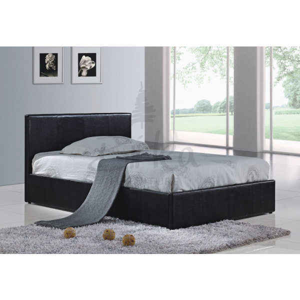 Berlin Faux Leather Ottoman Bed Frame