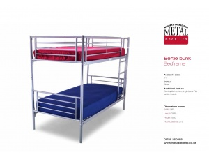 Bertie Metal Bunk Bed Frame
