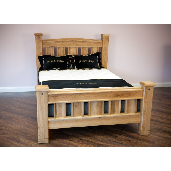 Donny Oak Bed Frame