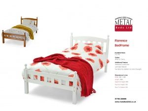 Florence Wooden Bed Frame