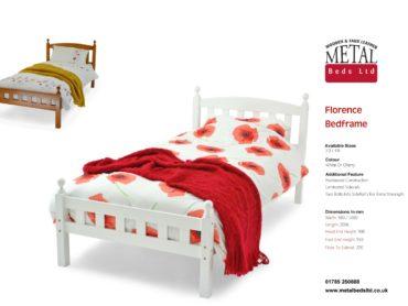 Florence Wooden Bed Frame