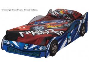 Formula Car Bed Frame (Blue)