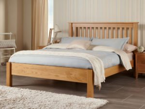 Lincoln Solid Oak Bed Frame