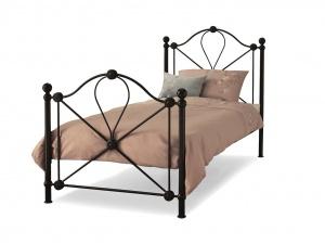 Lyon Metal Bed Frame (Black)