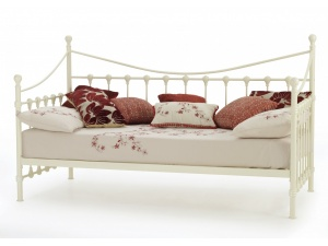 Marseilles Day Bed Frame (Ivory Gloss)