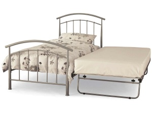 Mercury Metal Guest Bed Frame