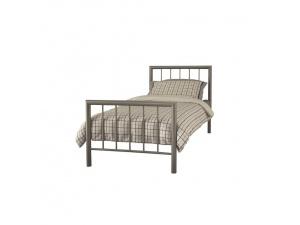 Modena Metal Bed Frame (Champagne)