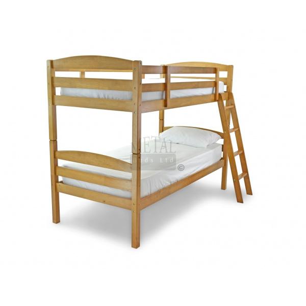 Moderna Bunk Bed (Maple Finish)