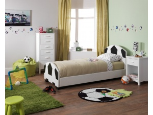 Pallone Faux Leather Bed Frame