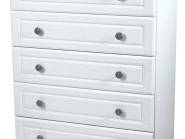 Pembroke 4 Drawer Chest (White)