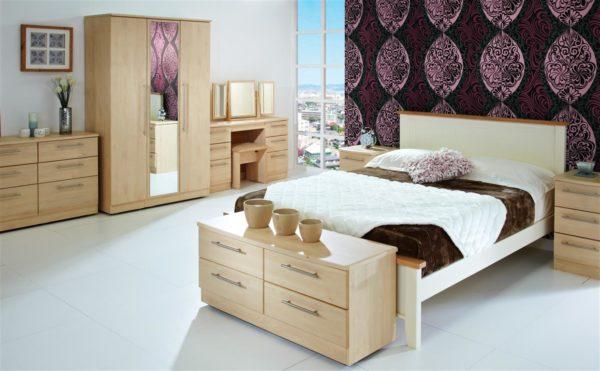 Sherwood Furniture Range (Maple Finish)