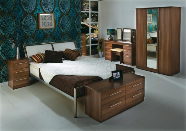 Sherwood Furniture Range (Noche Walnut)
