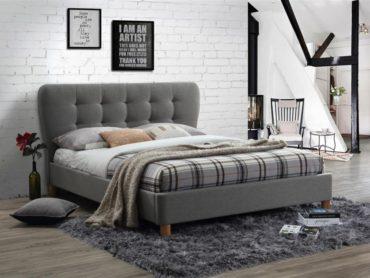 Stockholm Bed Frame Grey