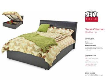 Texas Ottoman Bed Frame
