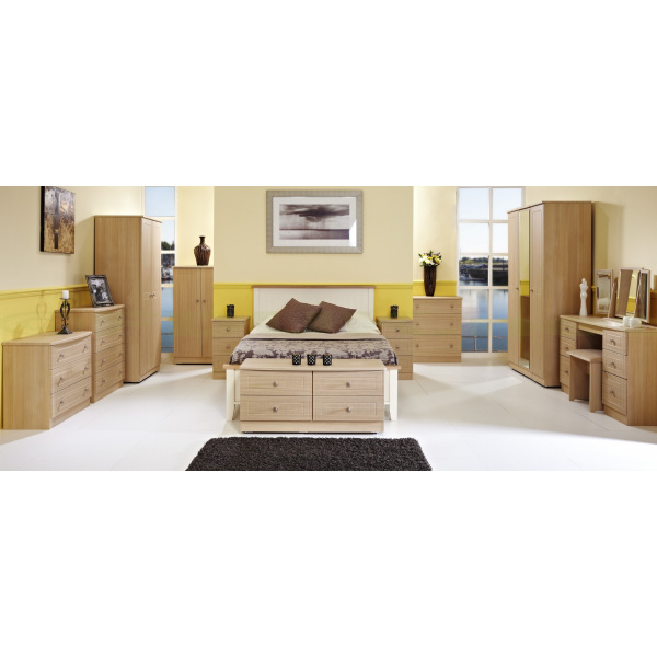 Warwick Furniture Range (Light Oak)