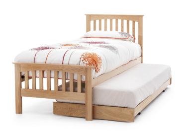 Windsor Oak Visitor Bed Frame