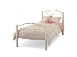 Yasmin Metal Bed Frame (White)